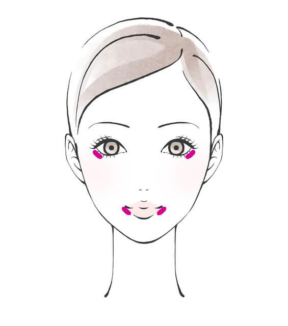 クッションファンデの化粧直し方法